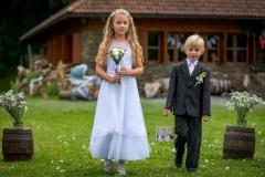 Focení svatby a děti