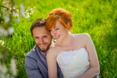Svatba, nevěsta, zrzka, svatební fotograf Přerov a okolí