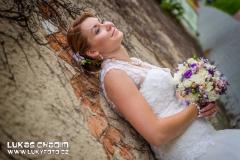 Svatební portrét nevěsta