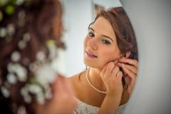 Fotograf Hlubočky, Velká Bystřice, přípravy nevěsty