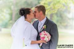 Svatební pár fotograf Hranice na Moravě Lukáš Chadim