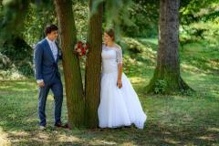 focení-svatby-v-parku