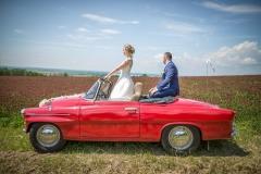 fotograf auto veterán svatba svatební