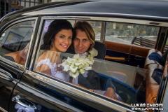 fotograf, staré auto, veterán, svatba