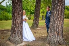 fotografie svatby v parku Lipník nad Bečvou, svatební fotograf