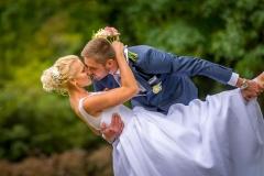 portrétové focení v Lipníku nad Bečvou, zámecká zahrada, svatební pózy