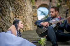 rocková svatba na Přerovských hradbách