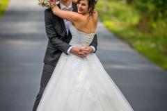svatba na cestě, focení na cestě