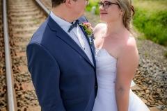 svatba na kolejích