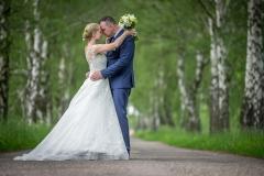 svatba v aleji