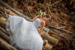 svatební fotograf, fotografování v lese