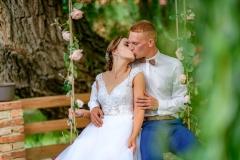 svatební houpačka