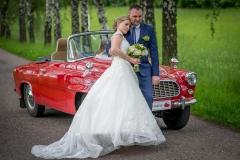 svatební staré auto foto fotky