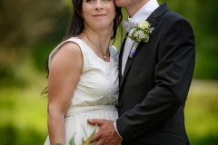 těhotná nevěsta foto s ženichem