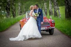 foto-u-starého-svatebního-auta