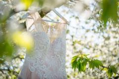 svatební-šaty-zavěšené-na-stromě